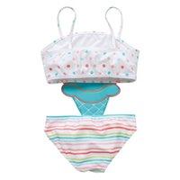EW 2019 Nette Eiscreme Kinder Bademode Einteilige Mädchen Badeanzug Kinder Schwimmanzüge Mädchen Bikini Kinder Badeanzüge Kind Sets Beachwear 478 K2
