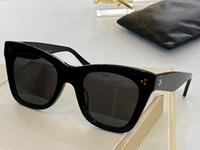 تقدم 4S004 جديد النظارات الشمسية أزياء للمرأة مربع إطار شمس جديدة نظارات جو بسيط أسلوب البرية عدسة حماية UV400 النظارات