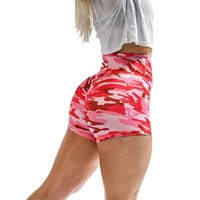 Mujeres Push Up Tie Dye Print Yoga Shorts Mujeres Basic Slip Bike Shorts Compresión Entrenamiento Leggings Yoga