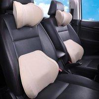 Leepee مساحة الذاكرة مقعد السيارة مسند الرأس قطني وسادة السيارات الخصر بقية وسادة الرقبة بقية مقعد مسند الرأس الداخلية الملحقات 1