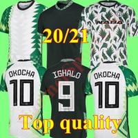 2020 Jersey Soccer 20 21 Maillot de Foot Okechukwu Okalo Okocha Ahmed Musa Ndidi Mikel Iheanacho Homens Kit Futebol Camisas