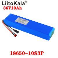 LIITOKALA 36V 10AH 600Watt 10S3P Lithium Ion Battery 20A BMS para Xiaomi Mijia M365 Pro Ebike Bicicleta Scoot XT60 T