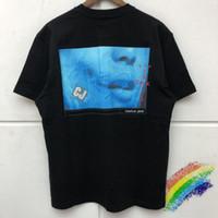 2021ss impressão de espuma camiseta homens mulheres de alta qualidade mangas curtas streetwear top t-shirt tees t-shirt