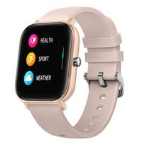بلوتوث سمارت ووتش الرجال النساء الرياضة IP67 ماء ساعة القلب معدل ضغط الدم مراقبة ضغط الدم SmartWatch ل iOS الروبوت