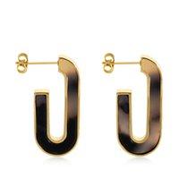 Varole Bols Ohrringe für Frauen Tortoiseshell Acetat Harz Acryl Herz Sternkreis Geometrische Ohrringe