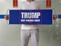 ترامب باليد أعلام 2020 الولايات المتحدة الأمريكية أنصار الانتخابات العامة لافتات 24x70 سنتيمتر إبقاء أمريكا كبيرة العلم شخصية الساخن بيع 5FS F2