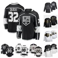Personalizado Los Angeles Kings Wayne Gretzky Ance Kopitar Jonathan Quick Luc Robitaille Dion Phaneuf 2020 Hockey Jersey Mujeres cosidas