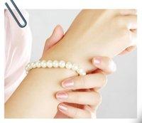 İnci Bilezikler Moda Takı Toplu Çok Moda Bilezik Kadınlar Beyaz Bej Ucuz Yapay Faux Ücretsiz Kargo PS2497