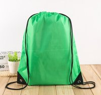 Wasserdichte Tasche Nylon Kordelzug Tasche String Rucksack für Frauen Männer Reisespeicherungspaket Te SQclns Haarflipper2011