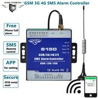 Alarmsysteme SMS Controller GSM 3G 4G Remote Relay Switch Industrielle Automatisierungssteuerungssystem für Pumpstationen Tanks