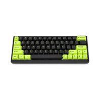 Claviers Code Terminal Noir Vert Sublimation PBT Keycaps pour Cherry MX Commutateur Mechanical Gaming Clavier Profil du clavier