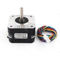 Impressoras de Alta Qualidade 4-Lead Nema 17 Motor 42 42ByGh 0.6a CNC Laser Impressora 3D Elétrica 17HS2408S1