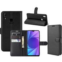 Для Vivo Y95 Y91 Y93 Y93 Y91i облегченный U1 Y91C Флип Магнитный бумажник PU кожаный телефон крышки случая X50e 5G