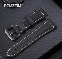 جلد طبيعي watchband 20 ملليمتر 22 ملليمتر 24 ملليمتر 26 ملليمتر مجنون الحصان nubuck الرياضة في الهواء الطلق حزام مشبك سترا sqcsdw كله 20120