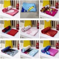 Neue Kinder Decken Flanell Ente / Katze / Hund Arten Warme Karikatur Decken glatt Flanell Decken Baby Beddings Swaddling Decke 1 * 1.4m I110