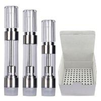 G5 Ceramic Caramic Cartridges 0,8 мл 1,0 мл 510 резьбовые тележки круглые прессы на подсказки для Dank Vapes