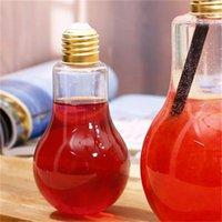 البلاستيك luminescence ضوء لمبة الأصالة عصير الماء حليب زجاجة الشاي شرب التعبئة زجاجات المشروبات يمكن التخلص منها جديد 3 8sh F2
