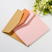 Custom cheap giveaway paper envelope kraft waterproof colorf...