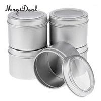 2020 New Kesoto 5x 60ml Runde Aluminiumcreme Leere Lippenkerzen Container Gläser Blechdeckel High Quanlity1