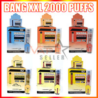 Mais recente Bang XXL Dispositivo de Caneta Vape Dispositivo 800mAh Bateria 6ml PODS 2000 Puffs Bang XXTRA Kit vs Puff Max Puff Duplo