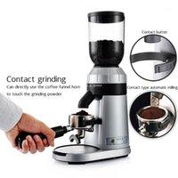 2020 150W Moedores de Café Italiano Elétrico Espresso 250g Máquina de Café Elétrica 25 Arquivos Ajustável Espessura1