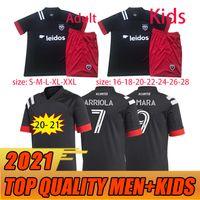 2021 DC D.C. United Soccer Jerseys 2020 D C Home Gressel 31 Flores 10 Ariola 7 Kamara 9 MLS Jersey Camicie da calcio