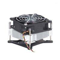 Pad di raffreddamento per laptop CPU Refrigeratore del dispositivo di raffreddamento del silenzio 4pin Ventola del rame del raggio del raggio del radiatore del raggio per 115x serie 1150 1155 1156 11511