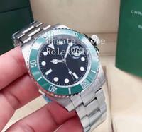 Синий свет мужчин 2021 Cerachrom 126610 126613 126619 126613 126619 126610 126618 41 мм керамический безель автоматический браслет 316L нержавеющие механические часы