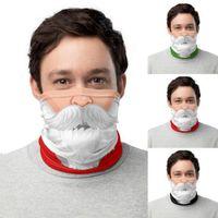 2020 Chirstmas Face Shield Bandana Face Mask Outdoor Sports Bandana Magic Headscarf Headband Visor Neck Gaiter Xmas Decoration New Year Gift