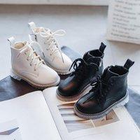 COMFY çocuk erkek botları çocuğun kızın su kaşığı ayak bileği yan fermuar savaş botları kar çocuk ayakkabı kızlar için