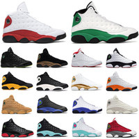 NUEVO Jumpan 13 Shoes para hombre Z Red Flint 13s Reverse El juego Lucky Soar Green Black Cat Chicago Women Trainers Sneaker