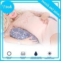 Многофункциональный для беременных женщин мультфильм узор талии со стороны U-образной грудной вскармливания подушка подушка