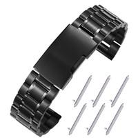 Os estilos populares adequados para a engrenagem Samsung s3 relógio de metal inteligente / S2 / S4 esporte com relógio galáxia ativa 20/22 milímetros