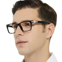 OCCI CHIARI luz azul bloqueo marco de los vidrios de los hombres del juego de ordenador vidrios del empollón de la prescripción de las lentes Gafas oculos masculino
