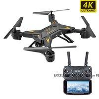 XKY601S RC Flugzeuge, 4K HD-Kamera WIFI FPV Drone, Voice Control UAV, Spur Flight, Gravity Induction Quadcopter, Allüren Halten, Kind-Geschenk, 2-2