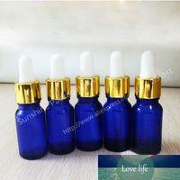 뜨거운 판매 200 x 10ml 코발트 블루 병 병 Dropper, 작은 음영 유리 병, 10cc 유리 에센셜 오일 컨테이너