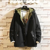 Outdoor Black Casual Men' s Autumn Winter Cargo Jacket 2...