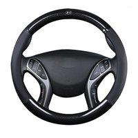 """Крышки рулевого колеса автомобиль рулевые колеса крышка 37 38см 15 """"для elantra / i35 sonata / i45 creta / ix25 tuscon / ix35 акцент Verna Solaris Sant"""