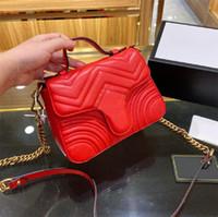 2020REAL 가죽 고품질 여성 아가씨 패션 마르몬 몬머 가방 정품 가죽 크로스 바디 핸드백 지갑 배낭 토트 숄더 가방