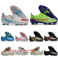 2021 جودة أحذية رجالي كرة القدم X شبح .1 FG المرابط كرة القدم أحذية كرة القدم في الهواء الطلق Scarpe