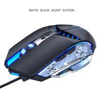 Mäuse professionelle Gamer Gaming Maus 80 IPS 7 Button 3200DPI Einstellbare Wired Optical LED Computer USB-Kabel für Laptop-PC