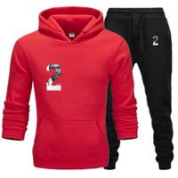 Mens Kleidung beiläufige 2020 neue Designer Trainingsanzüge Letter Print sweatsuits Hommes Jogger passende Klagen Pollover mit Kapuze Hoodies lange Hosen Outfits