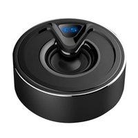 A10 Metal Mini Alto-falante Bluetooth Portátil Sem Fio Speaker Tws Stereo Subwoofer Bass Suporte TF Cartão AUX Music Player