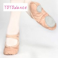 Professional Ballet Shoes Slippers Women Girls Toddler Genui...