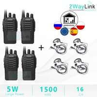 2PCS 4PCS Baofeng BF-888S Two Way Radio Baofeng 888s 5W Walkie Talkie UHF 400-470Mhz 16Channels H777 Radio BF 888S H-777 C2