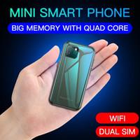 """Süper Mini Soya XS11 Smartphone 1 GB RAM 8 GB ROM 2.5 """"MT6580A Dört Çekirdekli Android 6.0 1000 mAh Küçük Cep Cep Telefonu"""