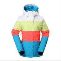 VÊTEMENTS SKI SKI SKI Veste de ski Outdoor 2020 NOUVEAU LIVRAISON GRATUITE GSOU SNOW Impression d'une nouvelle veste étanche et coupe-vent.