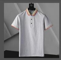 2021 Herren Designer Polos Marke Small Horse Stickerei Kleidung Männer Stoff Brief Polo T-Shirt Kragen Casual T-Shirt T-Shirt Tops