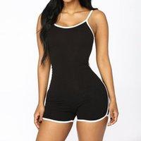 Jumpseau pour femmes Rompers Fashsitualy Summers Sexy PlaySuit BodySuit Slim Fit Sans manches Sangles Sans Whosale Drop1