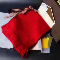 Écharpe de marque de cachemire à imprimer de haute qualité pour femmes de luxe de luxe de luxe Foulards longs à des châles de fil d'argent envelopper avec une boîte